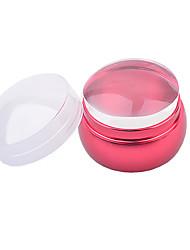 Недорогие -1PCS шаблон пластины урожденная дизайн ногтей тиснения изображений Стампер скребок розовый скребковые