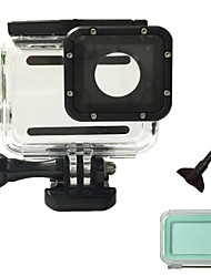 cheap -Accessories Waterproof Housing Case High Quality For Action Camera Gopro 5 Sports DV Ski / Snowboard Surfing Universal Snowmobiling