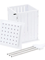 cheap -BBQ Grill 36 Hole Skewers Food Slicer Brochette Grill Kebab Maker Box Kit Tool