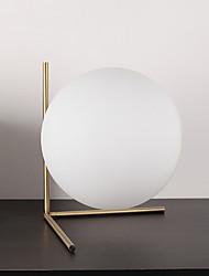40W Moderno Lampada da tavolo , caratteristica per Ad arco , con Elettroplaccato Uso Interruttore On/Off Interruttore