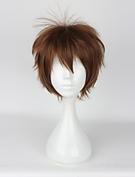 cheap -Cosplay Wigs Cosplay Cosplay Anime / Video Games Cosplay Wigs 35CM CM Heat Resistant Fiber Men's Women's