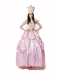 Princess Fairytale Female Halloween Christmas Carnival Children's Day New Year Oktoberfest Festival/Holiday Halloween Costumes Solid Lace
