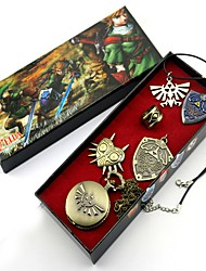 Montre / Badge / Plus d'accessoires Inspiré par The Legend of Zelda Link Anime Accessoires de Cosplay Colliers / Badge / MontreNoir /