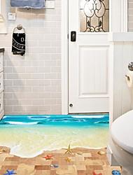 Недорогие -Мультипликация Наклейки 3D наклейки Декоративные наклейки на стены Украшение дома Наклейка на стену Стекло / ванной комнаты