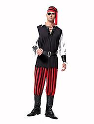 Pirate Costumes de carrière Costumes de Cosplay Costume de Soirée Bal Masqué Masculin Halloween Noël Fête / Célébration Déguisement