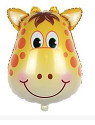 Недорогие -Мячи Воздушные шары Олень Для вечеринок Надувной Оригинальные Алюминий Мальчики Девочки Игрушки Подарок 1 pcs