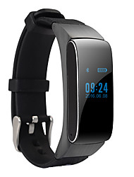 cheap -Smart Bracelet Android Calories Burned / Pedometers / Audio Sleep Tracker / Hands-Free Calls / Message Control / 100-120 / Camera Control
