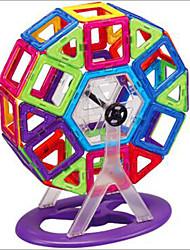 Недорогие -1 pcs Магнитные игрушки Магнитный конструктор Магнитные плитки Магнитные игрушки пластик Милый Детские / Взрослые Мальчики Девочки Игрушки Подарок