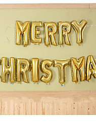 The Balloon Decoration Arrangement Aluminum Film On Christmas Eve