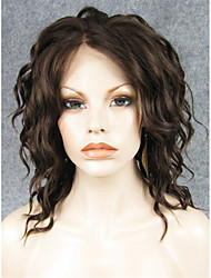 cheap -Synthetic Lace Front Wig Wavy Synthetic Hair Natural Hairline Wig Women's Lace Front