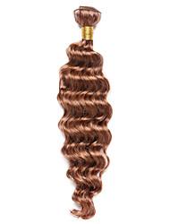 Недорогие -1 комплект Индийские волосы Классика Крупные кудри Натуральные волосы Precolored ткет волос Ткет человеческих волос Расширения человеческих волос
