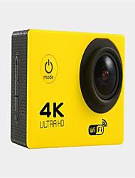 F60R Sports Action Camera 16MP 3264 x 2448 WiFi Adjustable Waterproof wireless 30fps 4x ±2EV 2 CMOS 64 GB H.264English French German