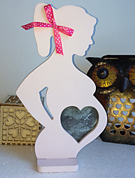 cheap -Wedding wooden photo frame furnishing articles Wedding props wooden photo frame pregnant women
