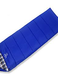 Недорогие -Спальный мешок на открытом воздухе Прямоугольный 10 °C Односпальный комплект (Ш 150 x Д 200 см) Утиный пух / Водонепроницаемость