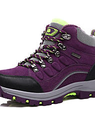 Women's Athletic Shoes Spring Summer Fall Winter Comfort Cowhide Outdoor Office & Career Casual Flat Heel Rivet Lace-up Blue Purple Peach