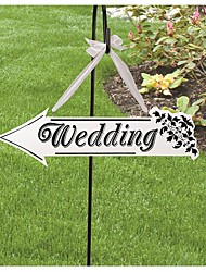 cheap -Wedding / Engagement / Wedding Party Wood Wedding Decorations Garden Theme Winter Spring Summer Fall