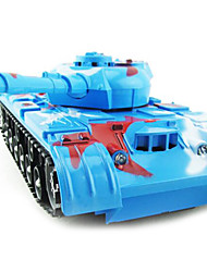 cheap -RC Car LH 4 Channel AM Tank 20 km/h KM/H Remote Control / RC / Rechargeable / Electric