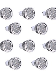 Недорогие -YWXLIGHT® 10 шт. 7W 600-700lm GU10 Точечное LED освещение 7 Светодиодные бусины SMD 3030 Тёплый белый Холодный белый 85-265V