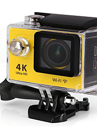 H9R Sports Action Camera 16MP 4000 x 3000 WiFi Adjustable Waterproof wireless 30fps 4x ±2EV 2 CMOS 32 GB H.264English French German