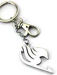 economico -Altri accessori Ispirato da Fairy Tail Lucy Heartfilia Anime Accessori Cosplay Portachiavi Argento Lega