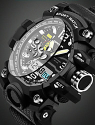 cheap -SANDA Men's Quartz Wrist Watch / Sport Watch Alarm / Calendar / date / day / Water Resistant / Water Proof / Cool / Noctilucent /