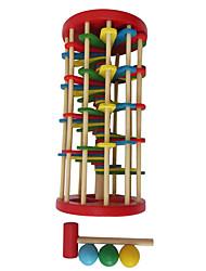 Недорогие -Молот / Ударная игрушка / Игрушки для младенцев / Обучающая игрушка Оригинальные деревянный 1 pcs Куски Мальчики / Девочки Подарок
