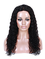 Hot Selling Peruvian Virgin Hair Full Lace Wig Curly Hair Natural Black Color 100% Unprocessed Human Hair Lace Wig Small Curly Hair For Fashion Woman