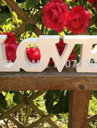 cheap -Wooden conjoined l LOVE wedding supplies Wooden furnishing articles in English letters Wedding props