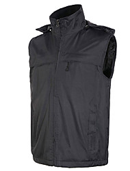 Men's Women's Hiking Vest Waterproof Thermal / Warm Windproof Fleece Lining Vest/Gilet Tracksuit Coverall Top for Skiing Camping / Hiking