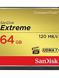 cheap -Sandisk 64GB Compact Flash CF Card memory card Extreme 800X UDMA7