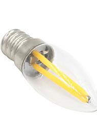 Недорогие -1.5 W Круглые LED лампы 80-100 lm E12 T 2 Светодиодные бусины COB Декоративная Тёплый белый 220-240 V / 1 шт.