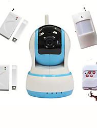 cheap -Wifi CCTV HD IP Camera Video Intruder Alarm Home Security System With Wireless Burglar Alarme Sensor, Baby Monitor
