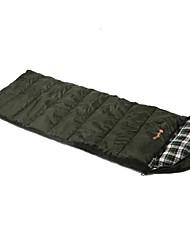Schlafsack Rechteckiger Schlafsack Einzelbett(150 x 200 cm) -15-20 Hohlbaumwolle T/C BaumwolleX80 Jagd Wandern Camping Reisen Draußen