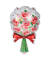 Недорогие -Мячи Воздушные шары Розы Творчество Оригинальные Алюминий Мальчики Девочки Игрушки Подарок 1 pcs