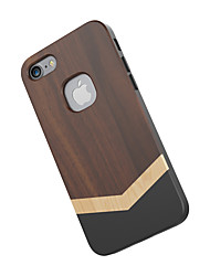 Slicoo Slcs067 Nature Series Well Made Wood Slim Covering Case for iPhone 7 Mobile Phone Back Protective Cover
