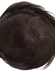 uomini toupee 7 * 9size capelli umani capelli vergini di vendita caldo di qualità piacevole