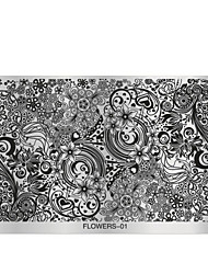 cheap -1 Stamping Plate Other Decorations Flower Fashion High Quality Daily