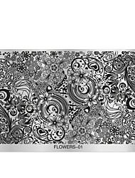1 utiskivanje Plate Ostale dekoracije Cvijet Moda Visoka kvaliteta Dnevno
