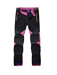 abordables -Hombre Mujer Pantalones para senderismo Al aire libre Impermeable Mantiene abrigado Secado rápido Resistente al Viento Resistente a los