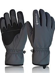 лыжные перчатки Полный палец Жен. / Муж. Спортивные перчаткиСохраняет тепло / Анти-скольжение / Водонепроницаемый / Ветронепроницаемый /