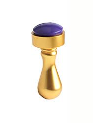 Недорогие -1шт ногтей искусство печати инструменты металла ногтей печать золото серебро печатей