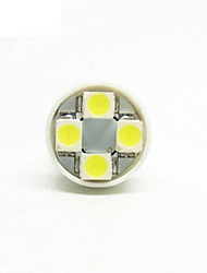 T10 Car Truck & Trailer Motorcycle White 0.5W SMD 3528 6000-6500Instrument Light Reading Light License Plate Light Side Marker Light Turn