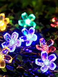 cheap -7M 50LEDs Solar Power String Lights Holiday Decoration Decorative Light