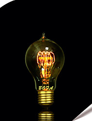 cheap -1pc 60W E27 E26/E27 E26 B22 A60(A19) Warm White K Incandescent Vintage Edison Light Bulb AC 220-240V V