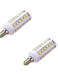 E14 LED Mais-Birnen T 44 SMD 5050 800 lm Warmes Weiß 5000-6500 K AC 220-240 V
