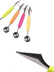 Недорогие -Кухонные принадлежности Металл Творческая кухня Гаджет Cutter & Slicer Для фруктов
