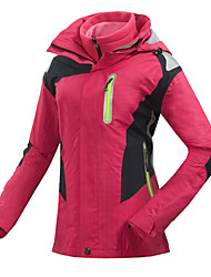Mulheres Jaqueta de Esqui Prova-de-Água Térmico/Quente Secagem Rápida A Prova de Vento Resistente Raios Ultravioleta Anti-Irradiação