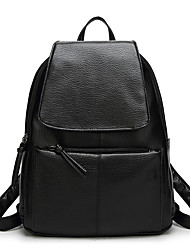 Women Bags All Seasons PU Backpack for Event/Party Shopping Casual Sports Formal Office & Career Outdoor Black