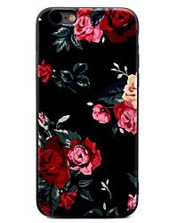 Per iPhone X iPhone 8 iPhone 7 iPhone 7 Plus iPhone 6 Custodie cover Fantasia/disegno Custodia posteriore Custodia Fiore decorativo