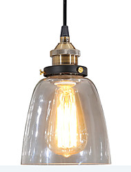 cheap -Vintage Country Modern/Contemporary LED Pendant Light Ambient Light For Living Room Bedroom Dining Room Study Room/Office Yellow 110-120V